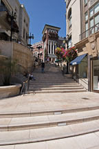 Spanish steps at Two Rodeo drive. Beverly Hills, California, USA. - Photo #7125