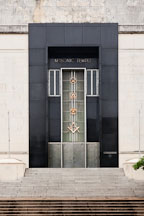 Front entrance to the Masonic Temple. Dallas, Texas. - Photo #24861