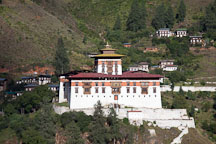 Rinpung Dzong. Paro, Bhutan. - Photo #24323