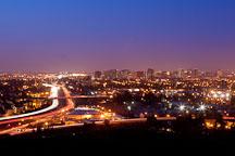 San Jose skyline at night. - Photo #24408