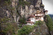 Tiger's Nest monastery. Paro Valley, Bhutan. - Photo #24224