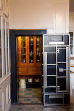 Walk-in safe in the Filoli house. - Photo #24612