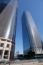 Downtown skyscrapers. Los Angeles, California, USA. - Photo #6526