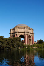 Palace of Fine Arts. San Francisco, California, USA. - Photo #3426