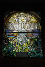 Stained glass. Wade Memorial Chapel, Lake View Cemetery, Cleveland, Ohio, USA - Photo #4226
