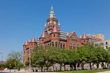 Old Red Courthouse. Dallas, Texas. - Photo #25130