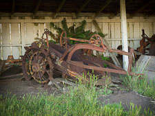 Plough at Pierce Point Ranch. Point Reyes, California. - Photo #25652