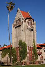 Tower Hall on the SJSU campus. San Jose, Californaia. - Photo #25728