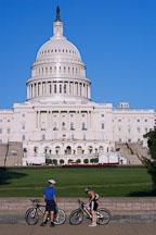 Bikers at the U.S. Capitol. Wasington, D.C. - Photo #1827
