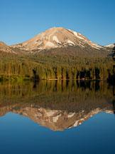 Mt Lassen and Lake Manzanita. Lassen NP, California. - Photo #27027