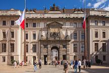 Matthias Gate and first courtyard at Prague Castle. Prague, Czech Republic. - Photo #30027