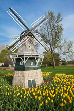 Minature windmill in Pella Iowa. - Photo #32727