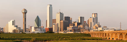 Dallas skyline in the late afternoon. - Photo #26759