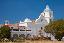Mission San Luis Rey. Oceanside, California. - Photo #26614