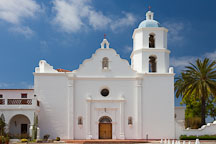 Mission San Luis Rey de Francia. Oceanside, California. - Photo #26636