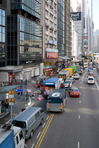 Connaught Road Central. Hong Kong. - Photo #15028
