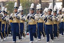 Marching band. San Jose Holiday Parade. San Jose, California, USA. - Photo #5128