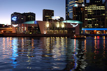 Melbourne Aquarium at dusk. Melbourne, Australia. - Photo #1628