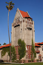 Tower Hall on the SJSU campus. San Jose, Californaia. - Photo #25728