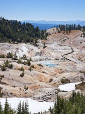 Bumpass Hell thermal basin. Lassen NP, California. - Photo #27107