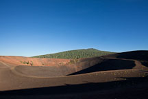 Crater of the Cinder Cone. Lassen NP, California. - Photo #27170