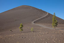 Cinder Cone. Lassen Volcanic National Park, California. - Photo #27207