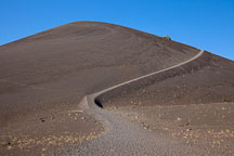 Cinder Cone volcano in Lassen National Park, California. - Photo #27204