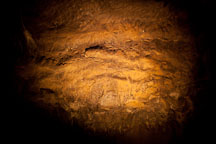 Dripstone in Mushpot cave. Lava Beds NM, California. - Photo #27304
