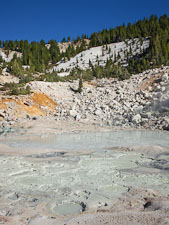 Mud pool in Bumpass Hell. Lassen NP, California. - Photo #27051