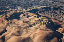 Painted Dunes. Lassen Volcanic National Park, California. - Photo #27150