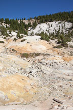 Rocky hillside of the Bumpass Hell area. Lassen NP, California. - Photo #27084