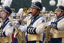 Marching band. San Jose Holiday Parade. San Jose, California, USA. - Photo #5129