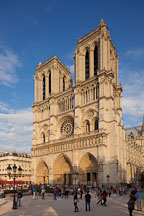 Notre Dame de Paris Cathedral. - Photo #31329