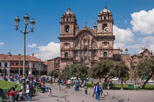 Plaza de Armas and Iglesia de la compania. Cusco, Peru. - Photo #10129
