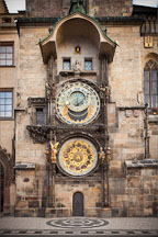 Astronomical clock in old town square. Prague, Czech Republic. - Photo #30129
