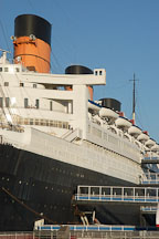 The Queen Mary hotel. Long Beach, California, USA. - Photo #8529