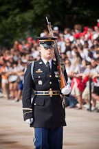Sentinel at the Tomb of the Unknown Soldier. Arlington National Cemetery, Virginia. - Photo #29029