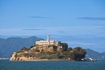 Alcatraz Island. San Francisco Bay, California. - Photo #28870