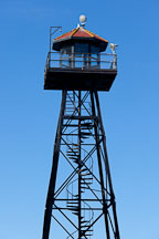 Guard tower. Alcatraz Island, California. - Photo #28887