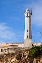 Lighthouse tower. Alcatraz Island, California. - Photo #28932