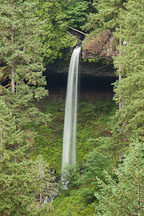 North Falls. Silver Falls State Park, Oregon. - Photo #28097