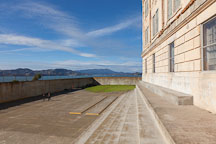 Recreation yard. Alcatraz, California. - Photo #28908