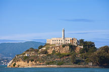 The Rock, Alcatraz Island. San Francisco Bay, California. - Photo #28874