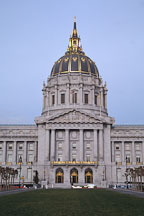 City Hall. San Francisco, California, USA. - Photo #1029