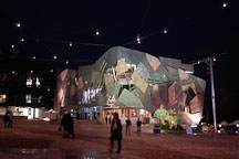 Federation Square. Melbourne, Australia. - Photo #1633