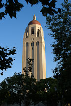Hoover Tower, Stanford, California. - Photo #1355