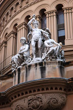 Sculptures on the Queen Victoria Building. Sydney, Australia - Photo #1408