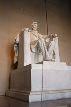 Lincoln memorial. Washington, D.C. - Photo #1817