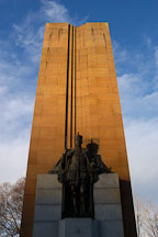 King George V monument. Melbourne, Australia. - Photo #1566