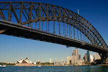 Sydney Harbour Bridge. Sydney, Australia. - Photo #1654
